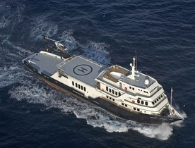 Charter Yacht GLOBAL fitted with Yacht Carbon Offset