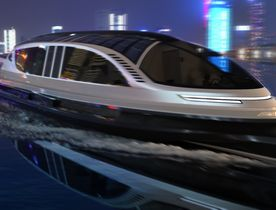 High-speed 40m superyacht concept inspired by Bugatti unveiled