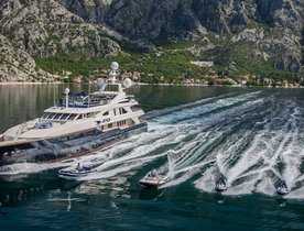 August Special Offer on 50m Superyacht 'JO'