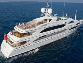 Caribbean Charters on Superyacht 'Meamina'