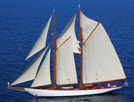 Charter Yacht AELLO Available in East Med