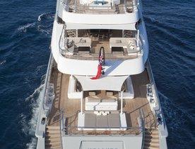 Charter Yacht MOGAMBO Available for Monaco Grand Prix & Cannes Film Festival