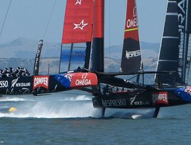 VIDEO America's Cup Finals - Race 3 & 4