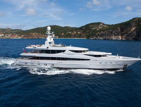 Oceanco's Motor Yacht Sunrise For Charter