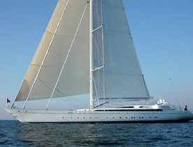 Charter Yacht M5 Receives Largest Ever Composite Forestay During Refit