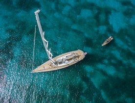 New Photos: Sailing Yacht MUZUNI Captured in the Caribbean