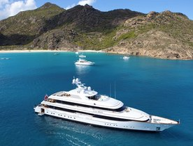 Superyacht 'LADY BRITT' Available in August in the Mediterranean