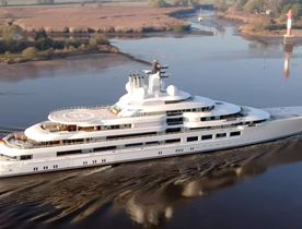 Exclusive: 140m Lurssen superyacht 'Project Lightning' delivered and named SCHEHERAZADE