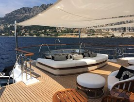 62m Charter Yacht LADY CHRISTINA Completes Refit