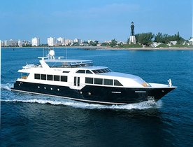 Superyacht 'TRUE NORTH' Available to Charter for Christmas in the Bahamas