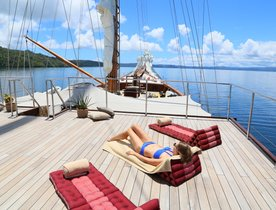 Book Now for a Reduced Charter Rate on Luxury Phinisi LAMIMA