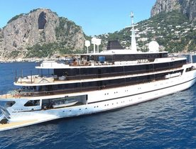 Superyacht CHAKRA Completes Refit And Rejoins The Charter Fleet
