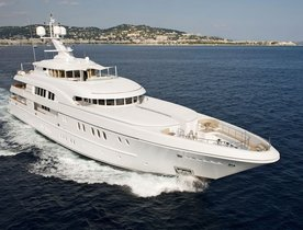 Superyacht ARKLEY Available for Mediterranean Charters