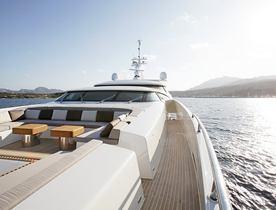 Luxury yacht GEMS II joins Mediterranean charter fleet