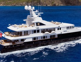 Oceanco superyacht HELIOS returns to the global charter market