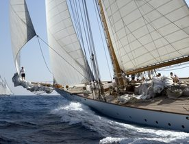 Classic Yacht ELEONORA Opens for America's Cup Charter