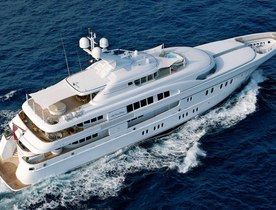 Superyacht ARKLEY has Late Availability in the South of France