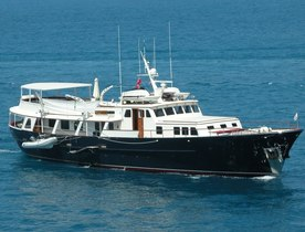 Classic Feadship Charter Yacht 'Santa Maria' Undergoing Refit
