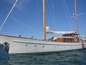 Classic Sailing Yacht 'Sea Diamond' New to Charter