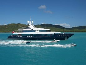 Charter Yacht 'Cloud 9' Renamed C9