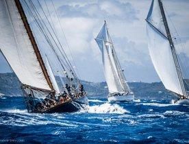 Anticipation builds for the Antigua Classic Yacht Regatta 2018