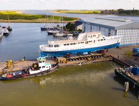 Classic motor yacht ISTROS set to join charter fleet following rebuild