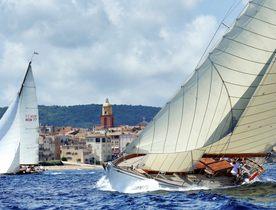Sailing Yachts Gather for Les Voiles de Saint-Tropez 2017