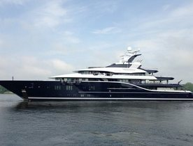 85m Charter Yacht Solandge Launched