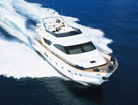 Charter Yacht RIVIERA Offers Last Minute Deal