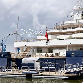 Video: 116m superyacht ULYSSES delivered from Kleven   Yacht