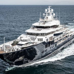 Video: 116m superyacht ULYSSES delivered from Kleven | Yacht