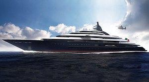 139m Lurssen Superyacht Project REDWOOD