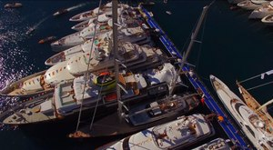 DRONE VIDEO: The Majesty of the Monaco Yacht Show 2015