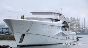 Feadship Hosts The Technical Launch Of Their Largest Superyacht To Date