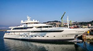 59m Superyacht MAYBE Launched By MetalShips