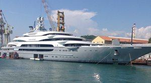 140m Superyacht 'Ocean Victory' Delivered