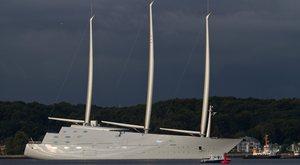 Sailing Yacht A (ex White Pearl)'s First Sea Trials