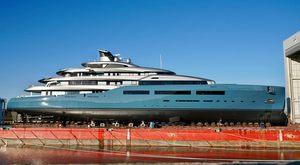 Video: Superyacht AVIVA Appears At Abeking & Rasmussen Shipyard