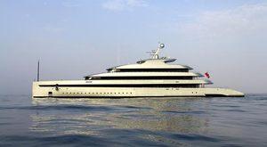 motor yacht SAVANNAH on maiden voyage to Norway