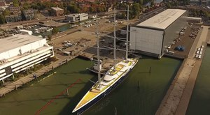 Video: Brand New Footage Of Sailing Yacht Y712