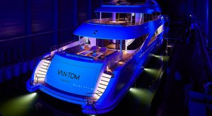 Brand New Heesen Superyacht Christened VANTOM