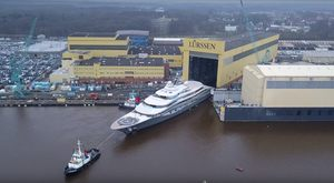 Video: A Fresh Look At Brand New Lurssen Superyacht 'Project Shu'