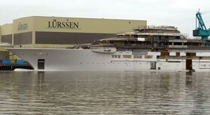 Video: Fresh Footage Of The Brand New Lurssen Superyacht 'Project Lightning'