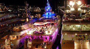 Superyacht Party during Miami's Art Basel