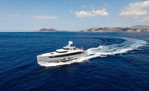 Brand new 36m 'MANA I' joins the Mediterranean charter fleet