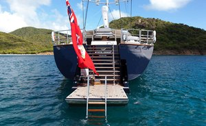 Get a Free Day On Board Perini Navi Charter Yacht 'State of Grace'