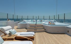 Amels luxury yacht 'La Mirage' unveils late summer deal on West Mediterranean charters