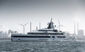 93m Feadship charter yacht 'Lady S' with IMAX theatre nearing completion