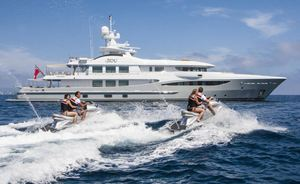 Mediterranean yacht charter deal: Save 10% on superyacht 4YOU
