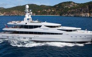 Oceanco luxury yacht FRIENDSHIP (ex SUNRISE) joins West Mediterranean fleet